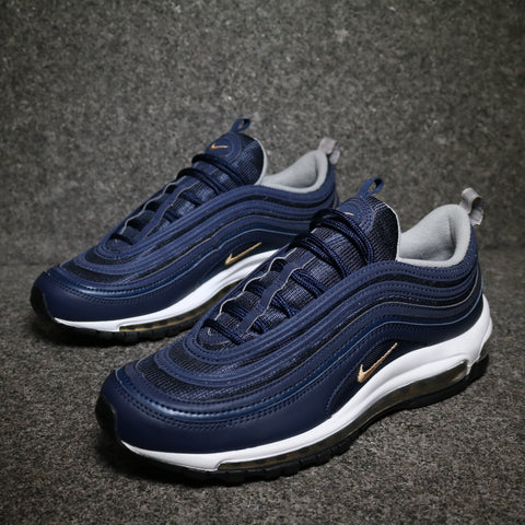 Air Max 97 Midnight Navy Metallic Gold
