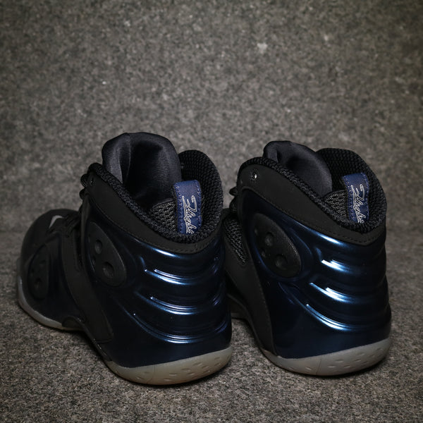 Rear view of the Zoom Rookie Binary Blue Black White at Solemate Sneakers Sydney