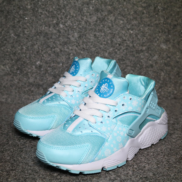 Air Huarache GS Cool White Blue Lagoon