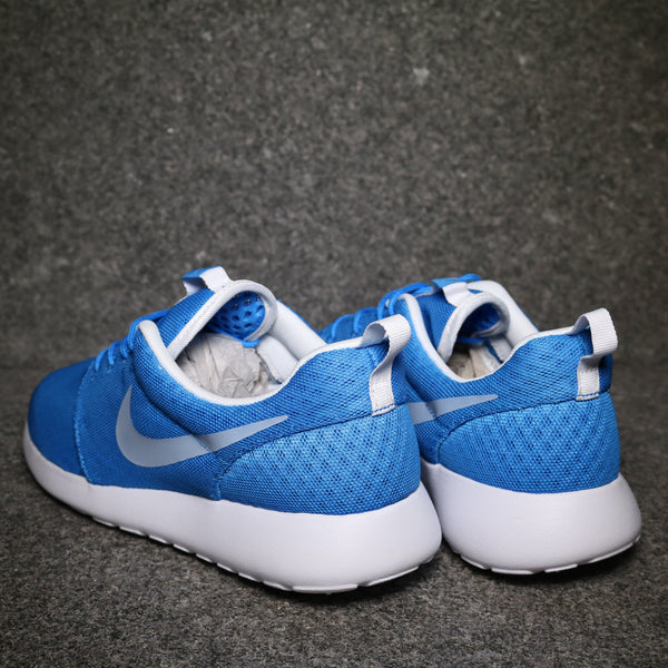 Rear View of the Roshe One Hyperfuse Breeze Photo Blue White at Solemate Sneakers Sydney