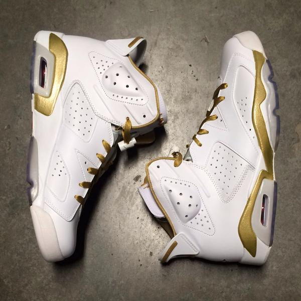 premium selection 6a9d2 76401 Air Jordan 6 Retro Golden Moments White Metallic Gold Varsity Red