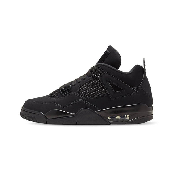 Air Jordan 4 Retro Black Cat 2020 Black Light Graphite