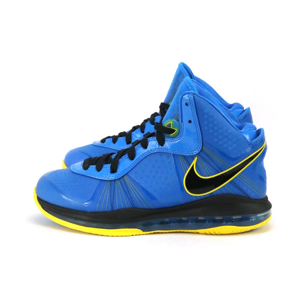 Lebron 8 V2 Entourage Photo Blue Black Tour Yellow