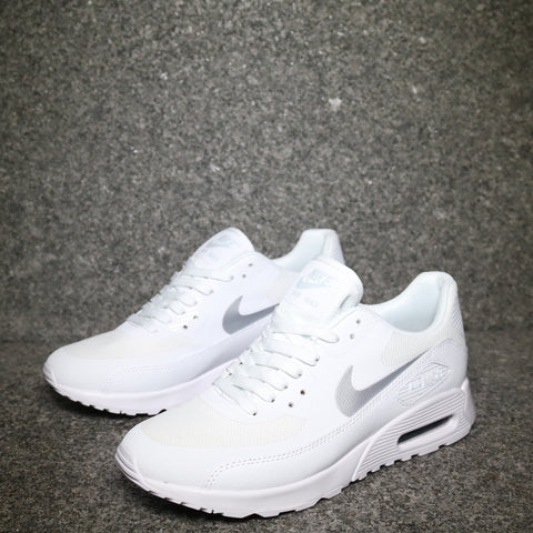 Women's Air Max 90 Ultra White Grey Black