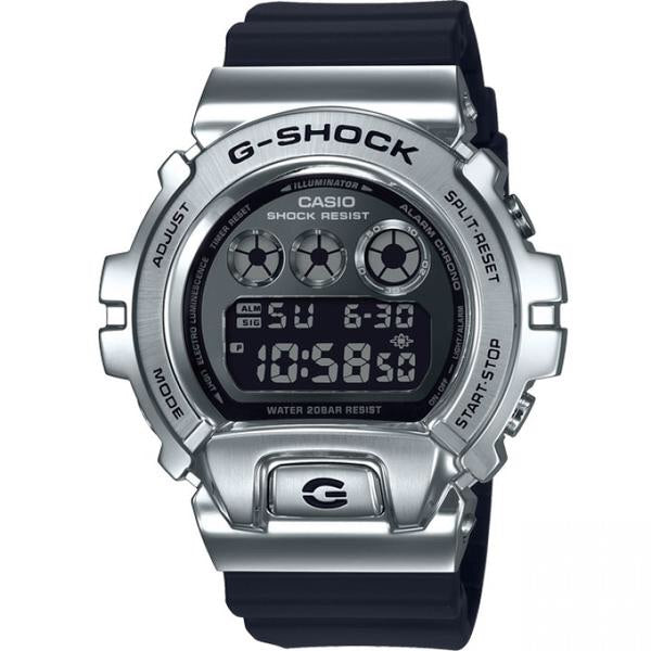 Metal Collection Metallic Silver Black GM6900-1D by G-Shock