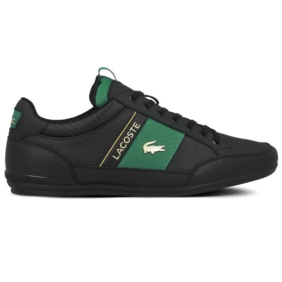 Chaymon Deluxe Black Green Gold by Lacoste