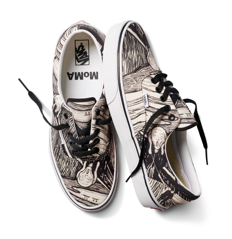 MOMA x Vans ERA Edvard Munch Black White Multi