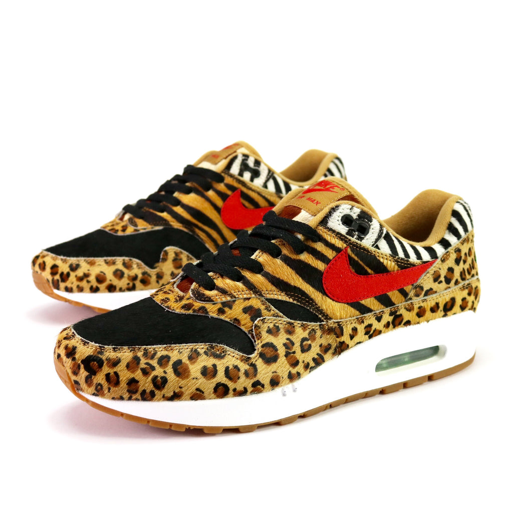 uk availability d0133 7d22a Air Max 1 'Atmos Animal Pack 2.0' Wheat Sport Red Bison