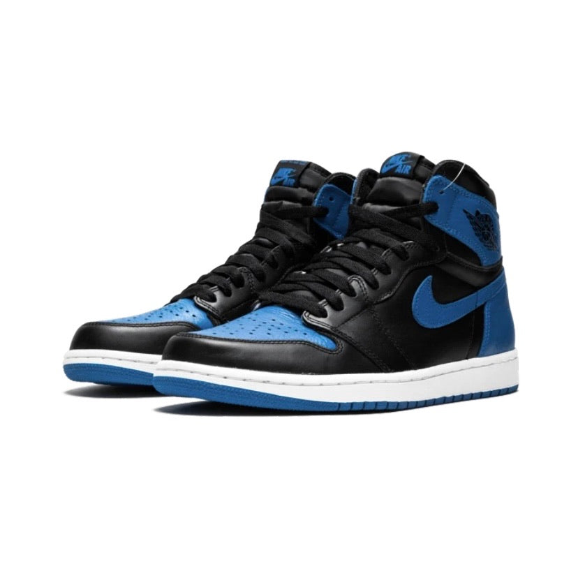 Air Jordan 1 Retro High OG 'Royal Blue' Black Royal White