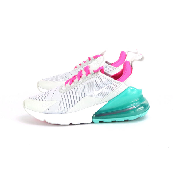 Women's Air Max 270 South Beach Platinum White Pink Blast