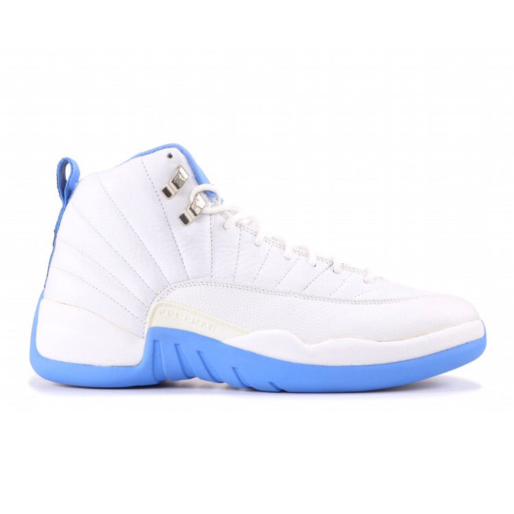 Air Jordan 12 Retro White Univ Blue Womens 2004
