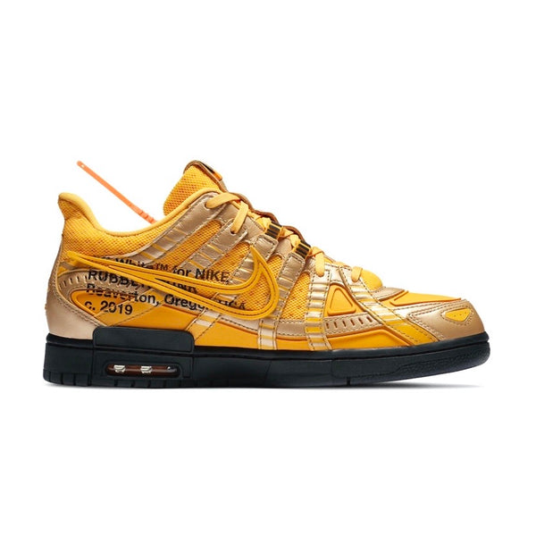 Off-White Air Rubber Dunk University Gold by Nike