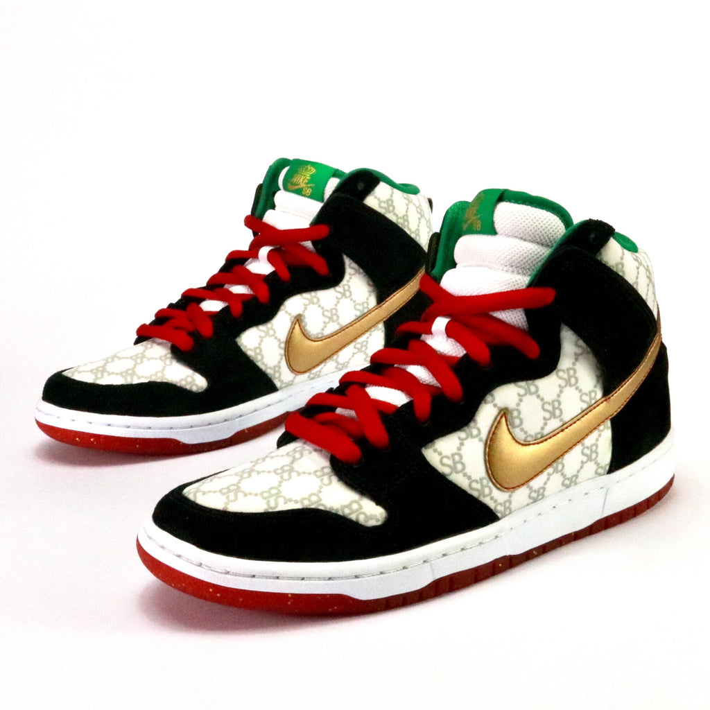 finest selection cdeda d49a6 germany nike dunk high premium sb sheep paid in full white multi gold black  93aab 01fba