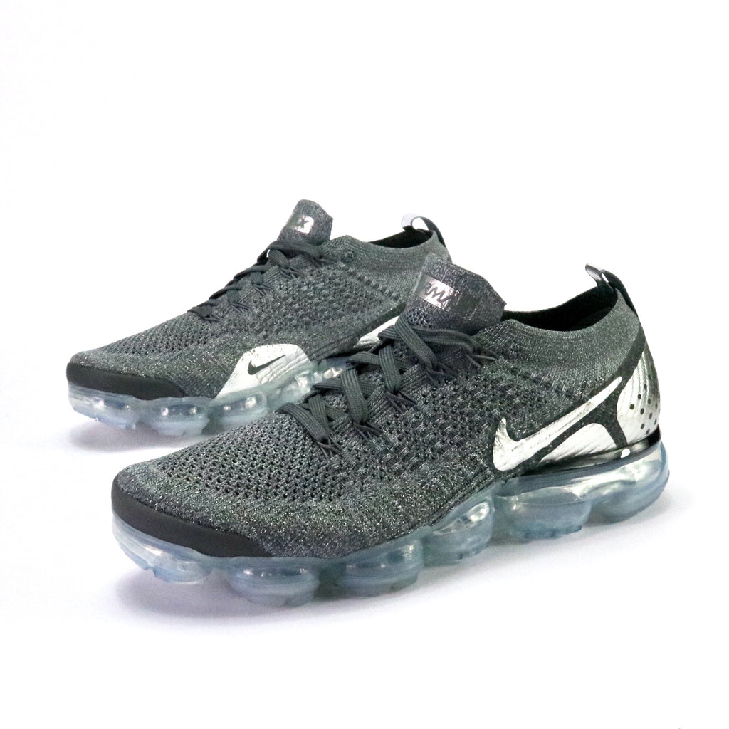 Air Vapormax Flyknit 2 Dark Grey Chrome Grey