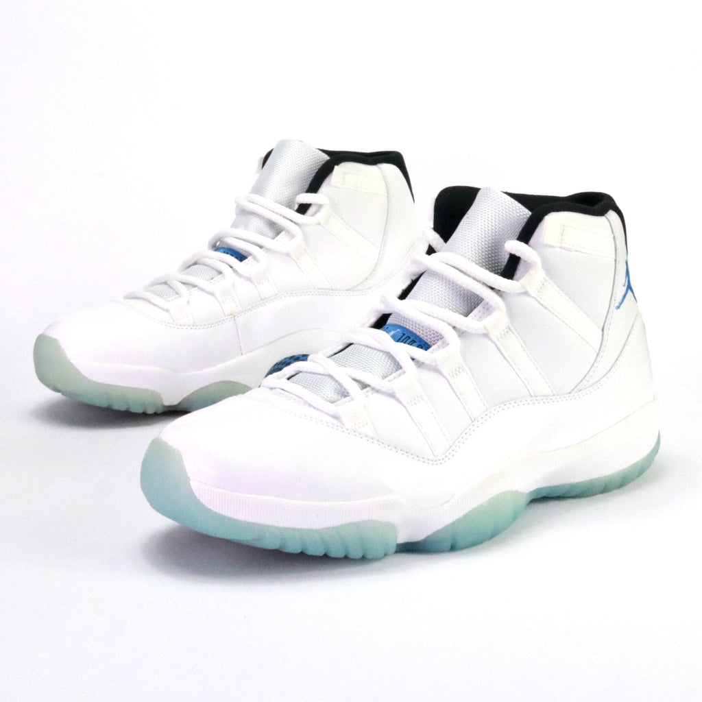"Air Jordan 11 Retro ""Legend Blue"" White Legend Blue Black"