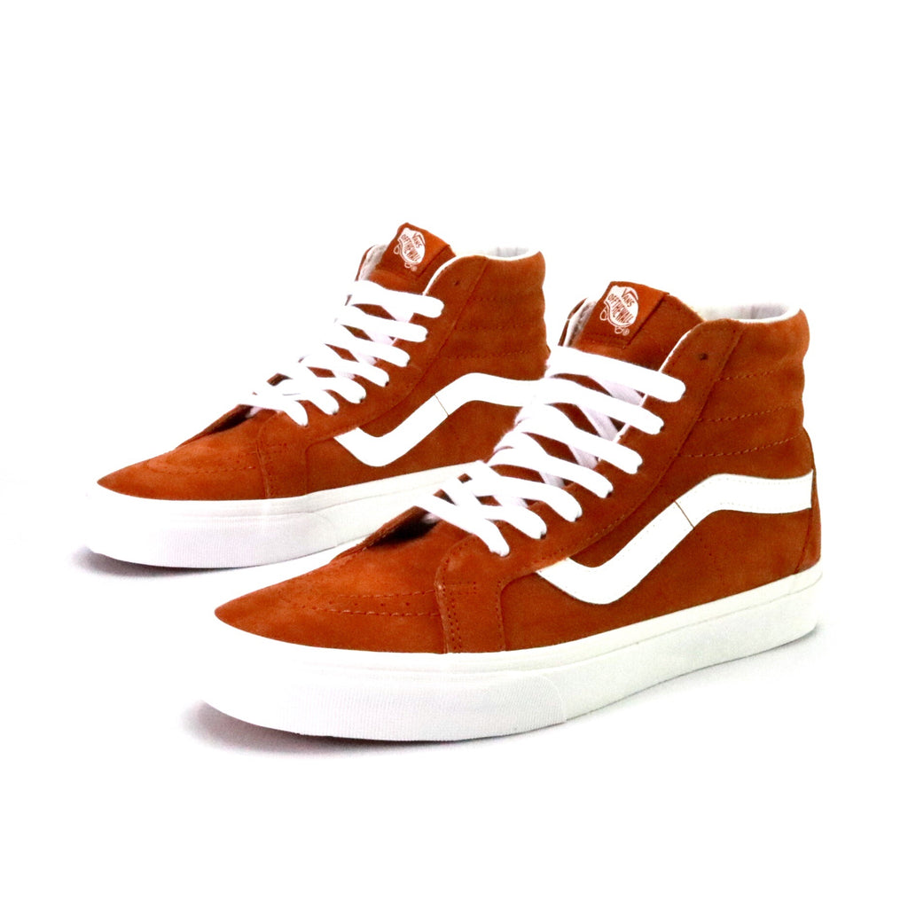 e96ac5567d SK8 Hi Reissue Pig Suede Leather Brown White – Sole Mate Sneaker ...