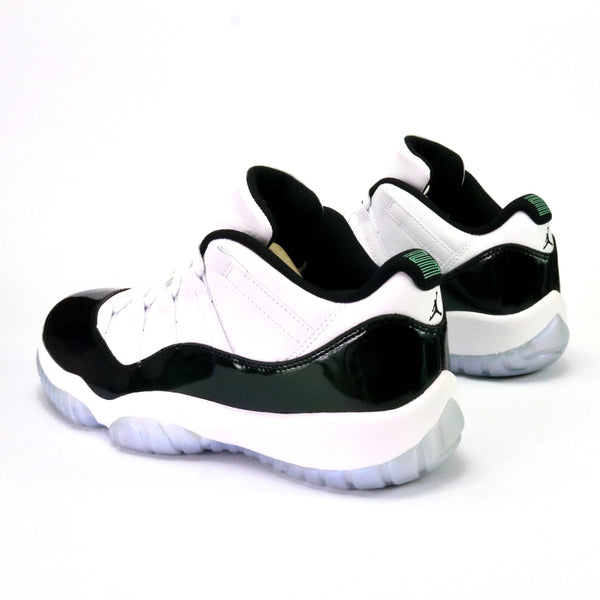 Air Jordan 11 Retro Low White Black Emerald Rise