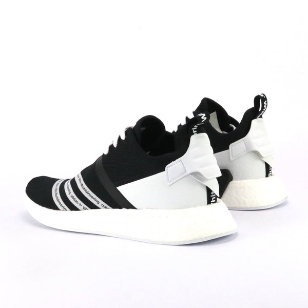 NMD R2 x White Mountaineering Core Black White White