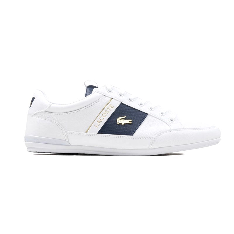 Chaymon Deluxe White Navy Gold by Lacoste