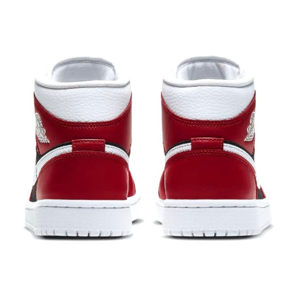 Womens Air Jordan 1 Mid Gym Red Black