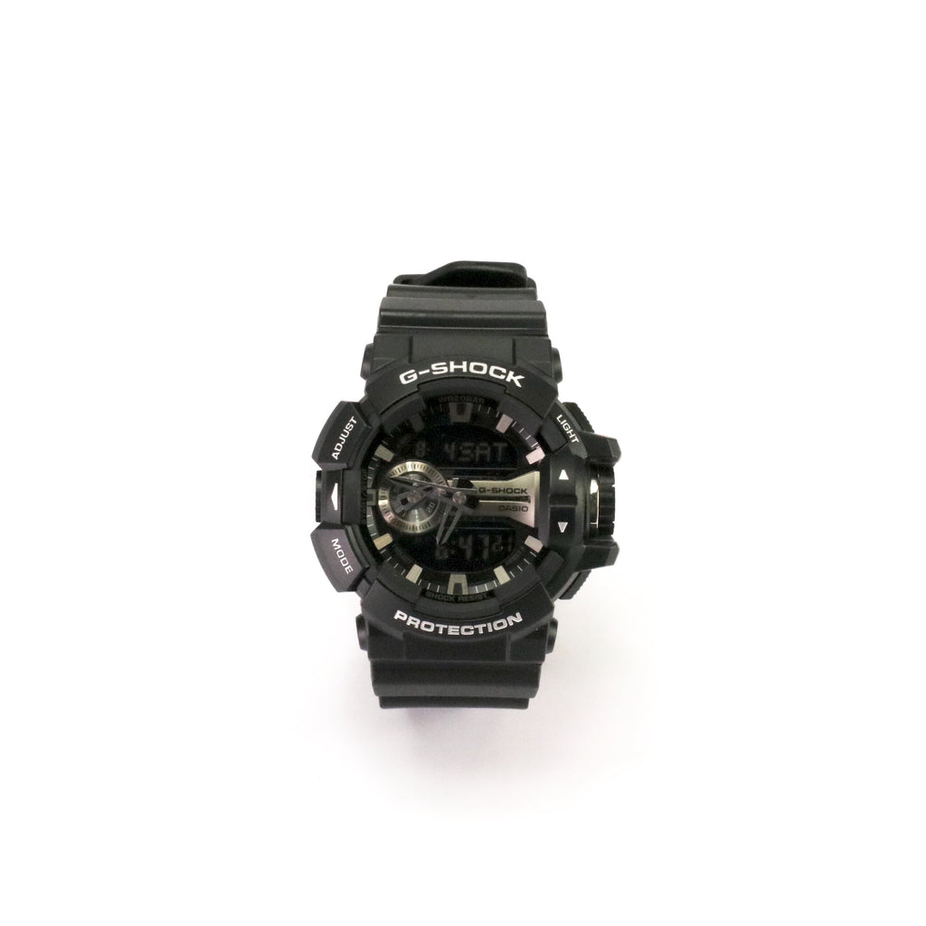 G-Shock DUO Rotary Black Silver