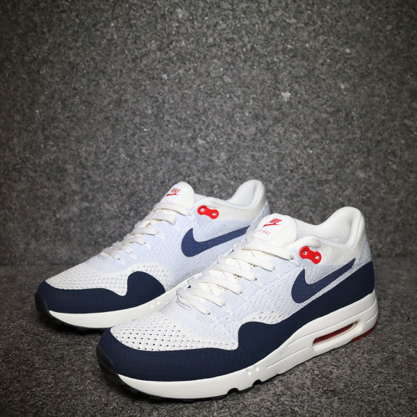 Air Max 1 Ultra 2.0 Flyknit Sail Obsidian Wolf Grey