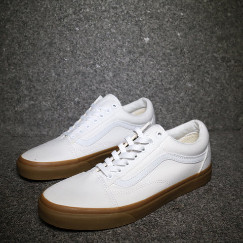 Old Skool Canvas White Gum
