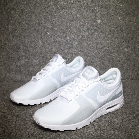 Women's Air Max Zero White White Wolf Grey