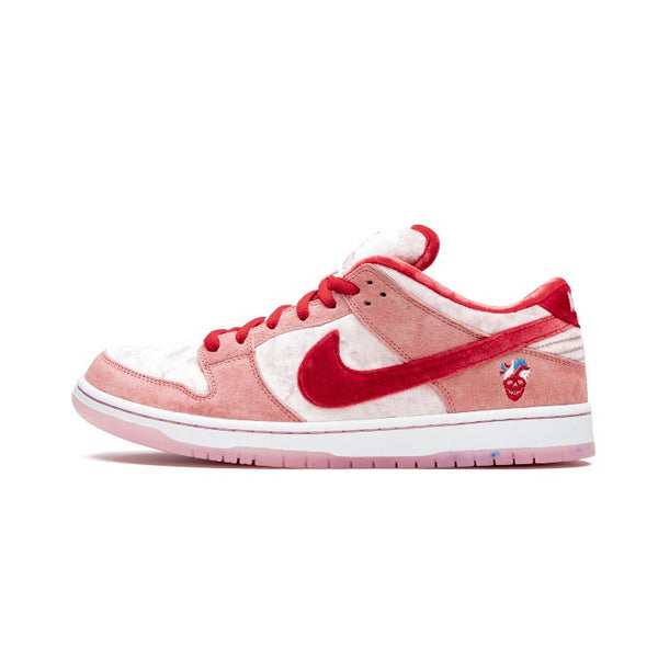 SB Dunk Low Strange Love Regular Box Pink Red White