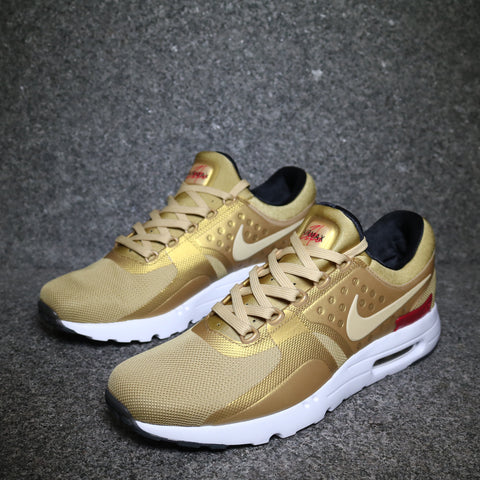 Women's Air Max Zero QS Metallic Gold University Red