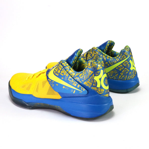 Zoom KD IV Scoring Titles Tour Yellow Lemon Twist Photo Blue