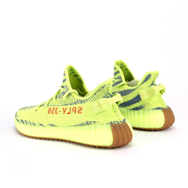 Yeezy Boost 350 V2 'Semi Frozen Yellow' Semi Frozen Yellow Raw Steel Red