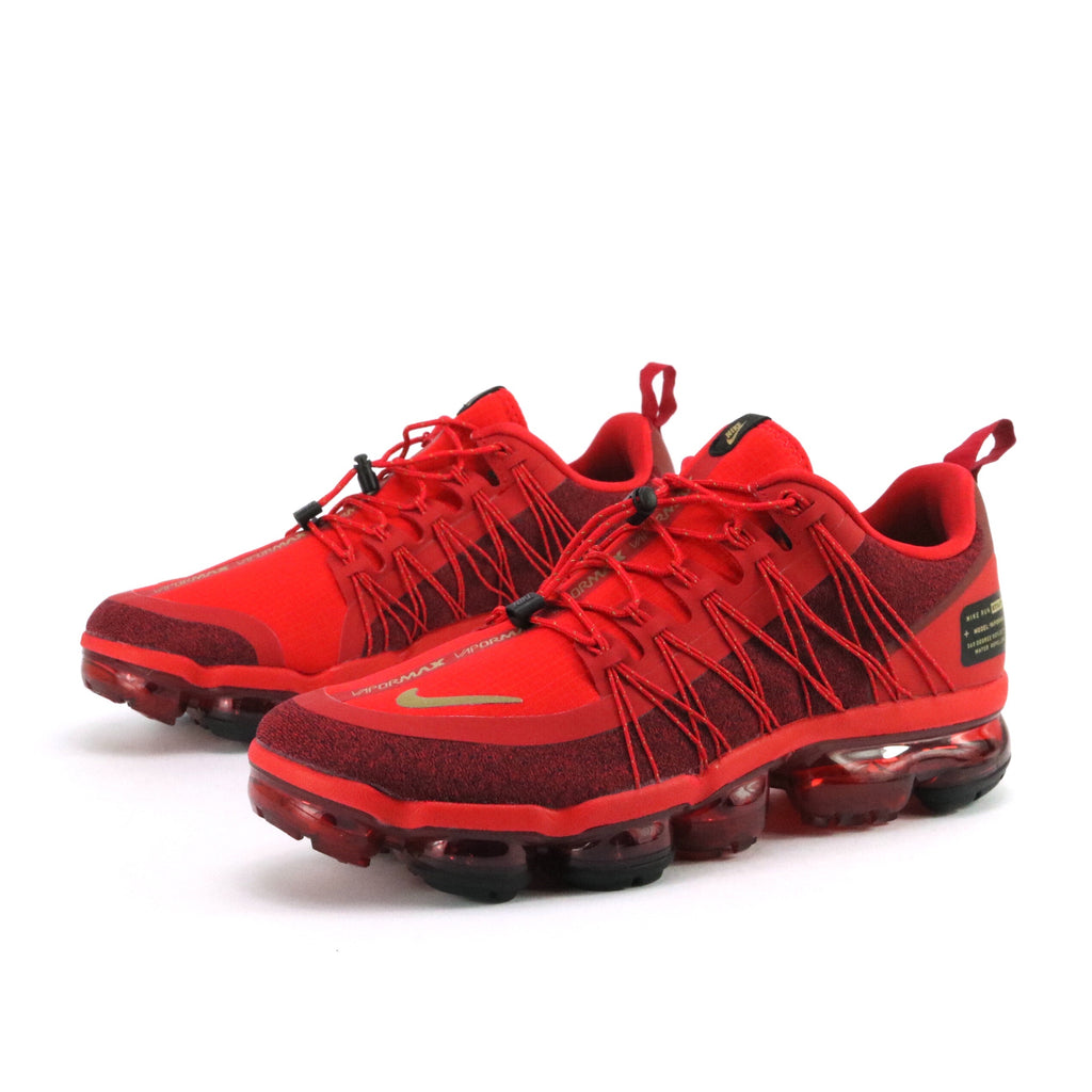0967bdf306c Air Vapormax Run Utility CNY University Red Metallic Gold Black ...