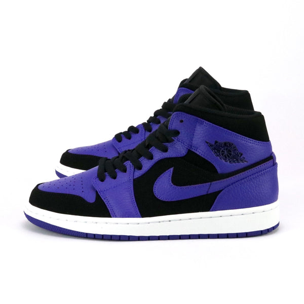 Air Jordan 1 Mid Black White Concord White
