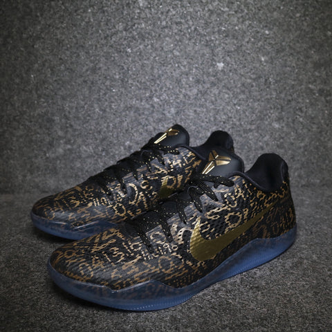 "Kobe 11 Low ""Mamba Day ID"" Black Gold"
