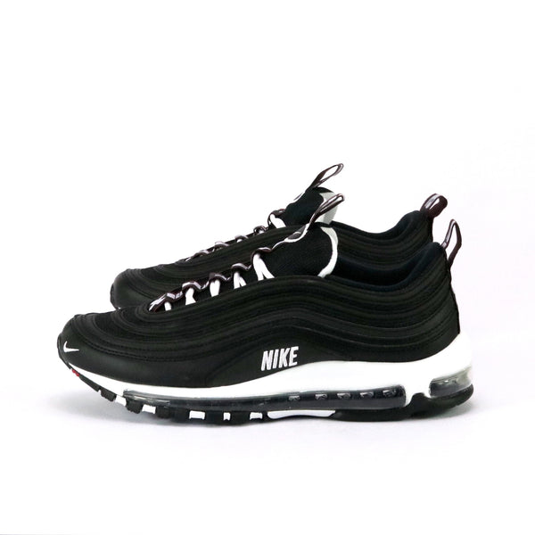 Air Max 97 Premium Black White Varsityt Red