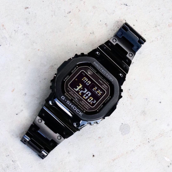 G-Shock 5600 Liquid Metal Limited Edition Black Black Screen