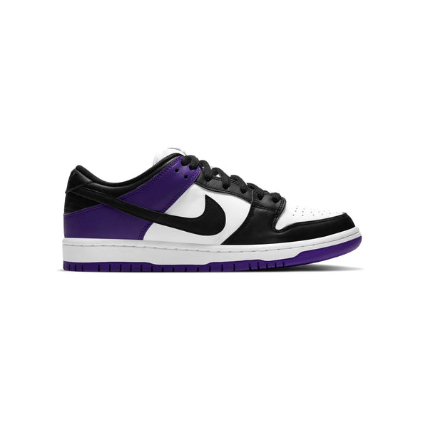 SB Dunk Low Pro Court Purple Black White