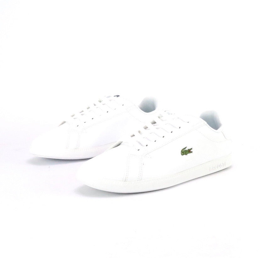 Men's Graduate White White by Lacoste