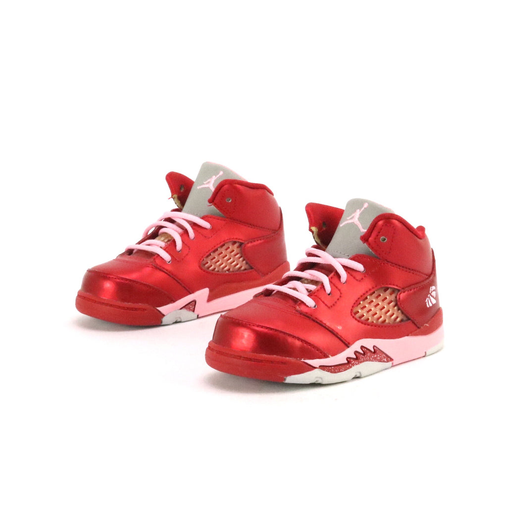 sneakers for cheap c0d63 191fc Toddler Air Jordan 5 Valentine Gym Red Ion Pink
