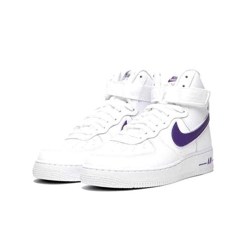 Nike Air Force 1 High '07 White Court Purple