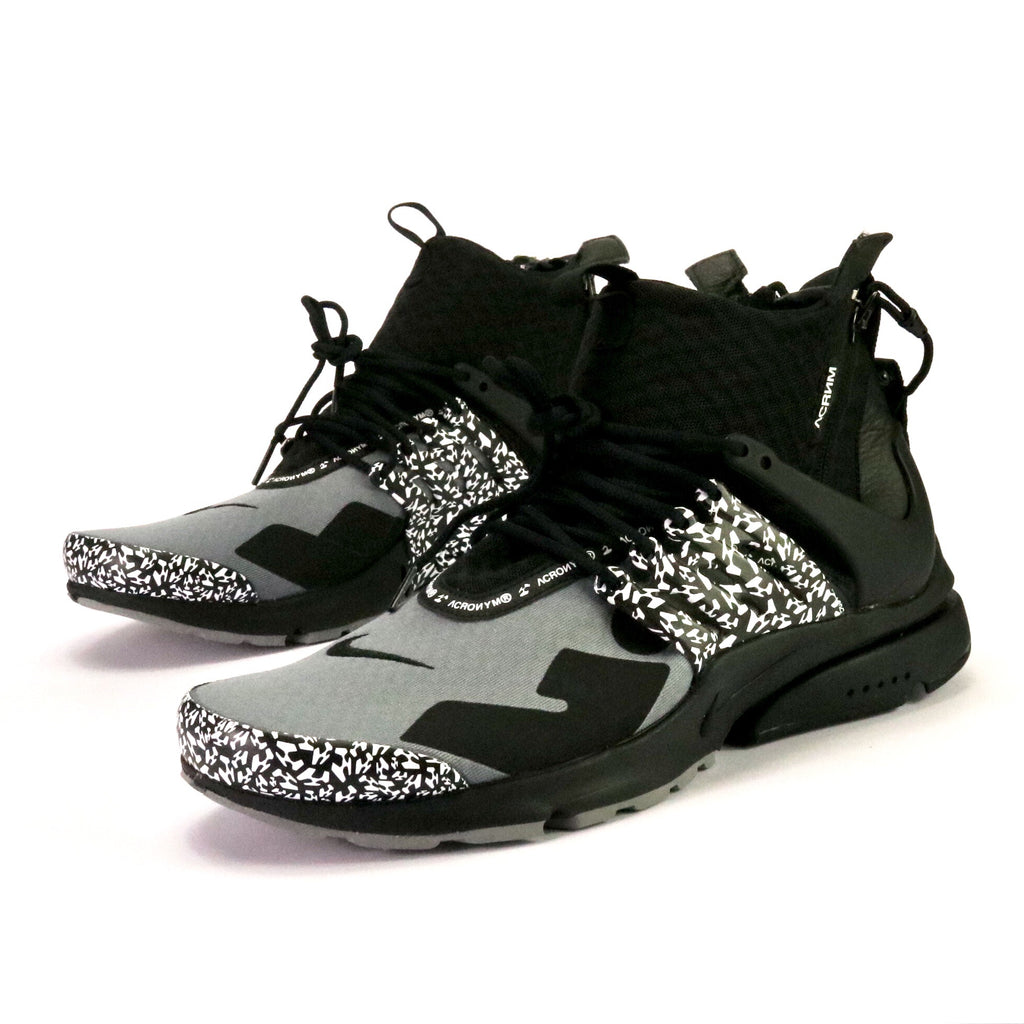 hot sale online 0a5fe 9a082 Air Presto Mid Acronym Cool Grey Black – Sole Mate Sneaker Boutique