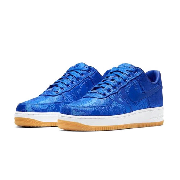 CLOT x Air Force 1 Premium Game Royal White
