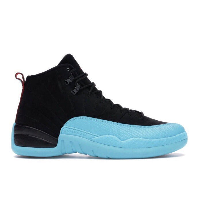 Air Jordan 12 Retro 'Gamma Blue' Black Gym Red Gamma Blue