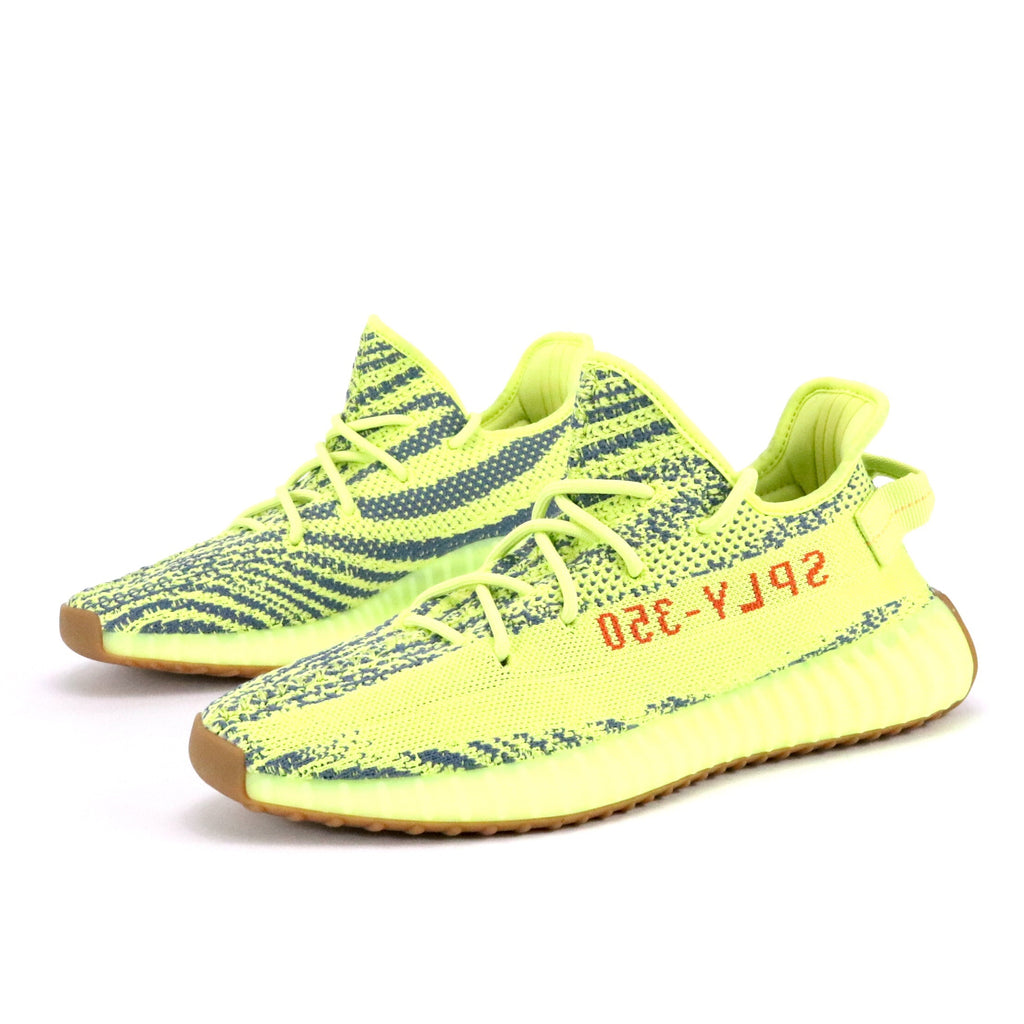 918c9a9647404 Yeezy Boost 350 V2  Semi Frozen Yellow  Semi Frozen Yellow Raw Steel R –  Sole Mate Sneaker Boutique