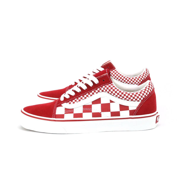 Old Skool Checkered Foxing Stripe Cilli Pepper True White