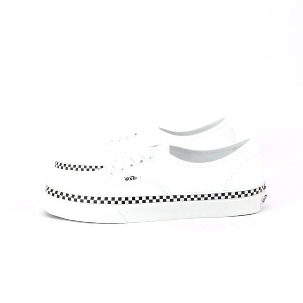 Authentic Checkered Foxing Stripe White Black