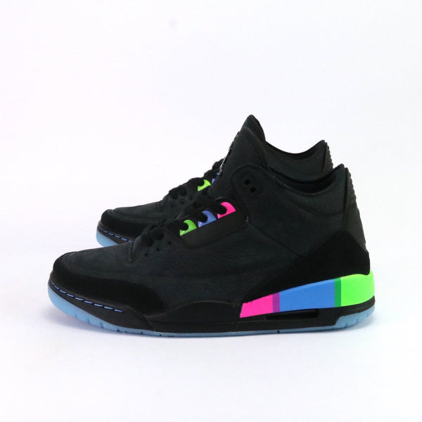 Air Jordan 3 Retro Quai 54 2018 Black