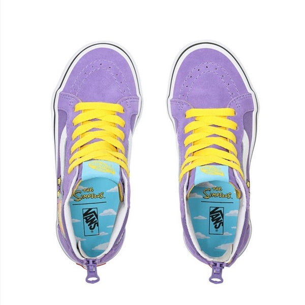 Kids The Simpsons x SK8 Hi Lisa 4 Prez