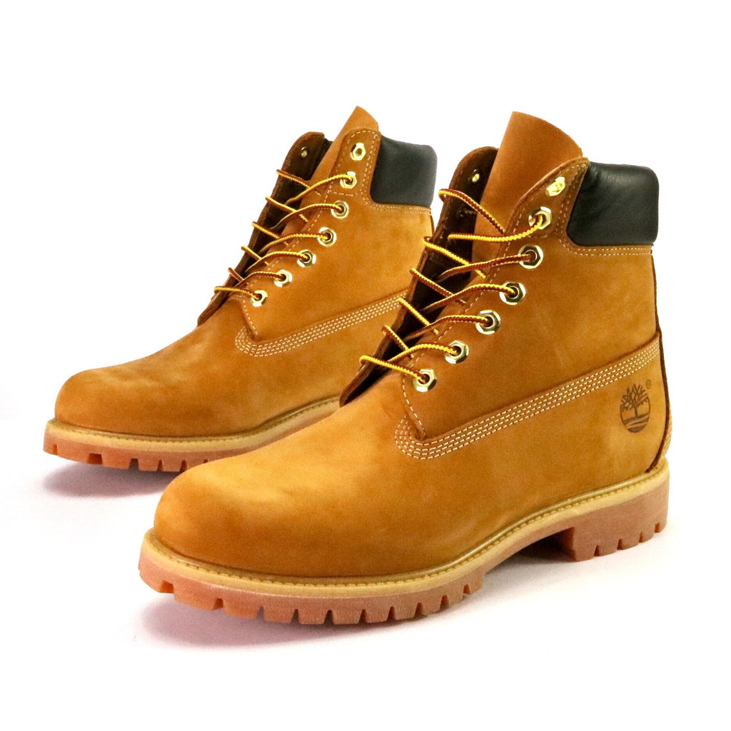 Timberland Men s 6 Inch Premium Waterproof Boots Wheat – Sole Mate Sneaker  Boutique f20eee5b6b9e4
